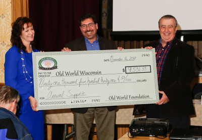Old World Foundation Announces 2018 Funding for Old World Wisconsin